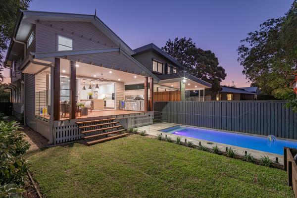 Freestanding Hamptons Inspired Duplex